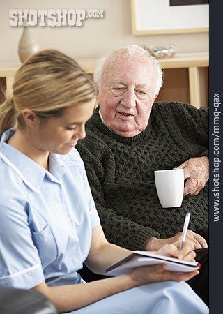 Senior, Patient, Caregiver, Medical Record