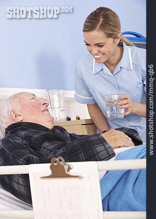 Hospital, Patient, Nurse, Convalescent