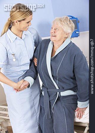 Nurse, Patient, Hospital Stay