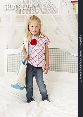 Girl, Nursery, Fitting Room