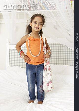 Girl, Jewelry, Posing, Fitting Room