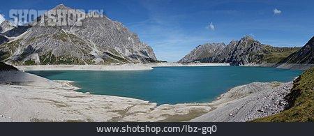 Austria, Reservoir, Lünersee