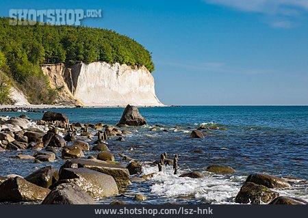Baltic Sea, Chalk Rock, Cliff
