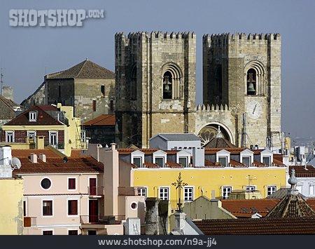 Lisbon, Alfama, Catedral Se Patriarcal