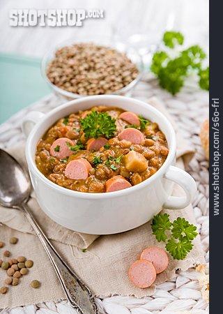Sausages, Lentil, Lentil Soup