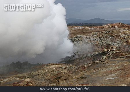 Iceland, Geothermal, Geothermal, Fumarole, High Temperature Fields