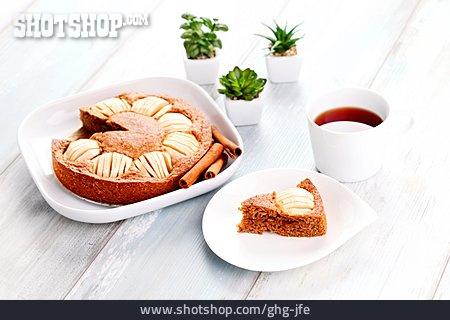Cinnamon, Cake, Apple Pie, Christmas Cake