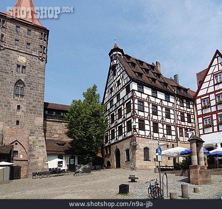 Nuremberg, Timbered, Pilatus House