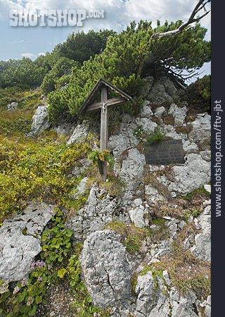 Cross, Berchtesgadener Land, Plaque