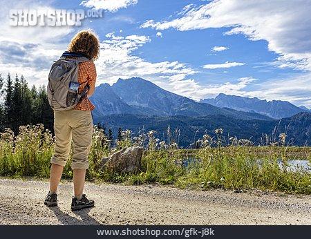 Trail, Hiker, Jenner