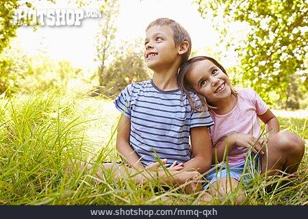 Boy, Girl, Siblings