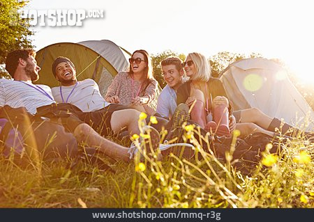 Friendship, Summer, Camping