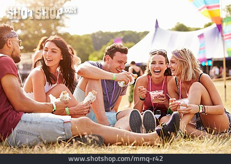Summer, Festival, Picnic, Friends