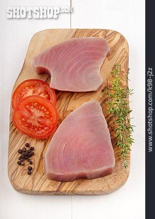 Tuna, Raw