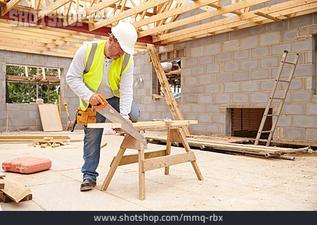 Building Construction, Sawing, Roofer