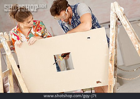 Craft, Diy, Remodeling, Sawing