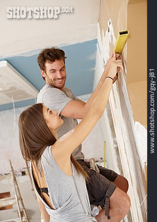 Couple, Remodeling, Home Improvement