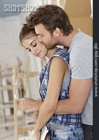 Couple, Loving, Remodeling