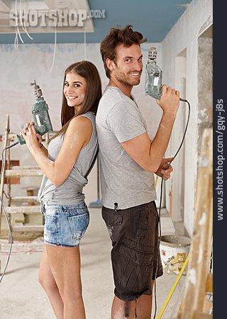 Drill, Diy, Remodeling, Home Improvement