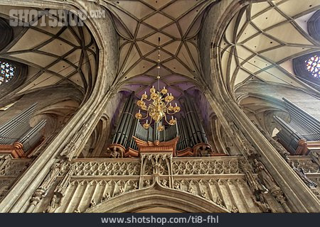 Church, Dom, Pipe Organ, Gothic Style