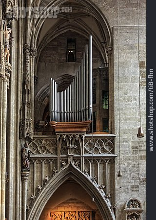 Church, Pipe Organ, Church Organ
