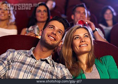 Couple, Movie Theater, Date