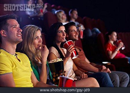 Movie Theater, Audience, Movie, Cinema Hall