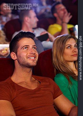 Man, Movie Theater, Movie