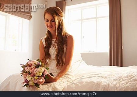 Waiting, Bridal Bouquet, Bride