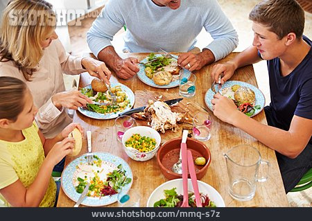 Domestic Life, Meal, Family