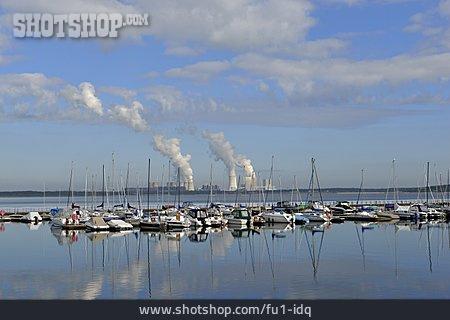 Power Plant Boxberg, Lake Baerwald