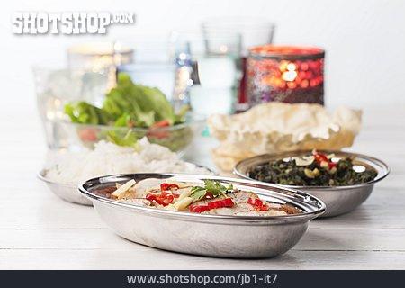 Meal, Indian Cuisine
