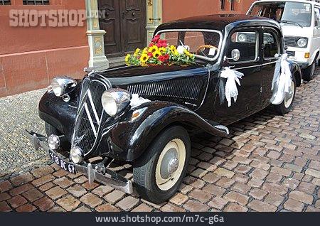 Oldtimer, Wedding Car