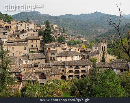 Village, Catalonia, Mura