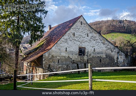Switzerland, Barn, Reigoldswil