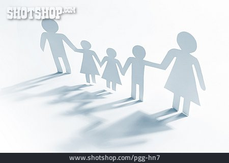 Togetherness, Family, Papercutting