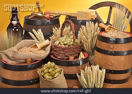 Spices & Ingredients, Brewery, Beer Keg, Oak Barrel