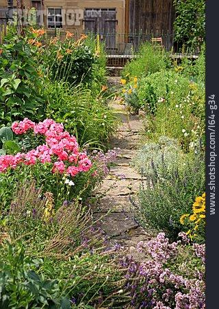 Allotment, Flower Garden