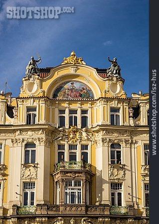 House, Facade, Old House, Prague