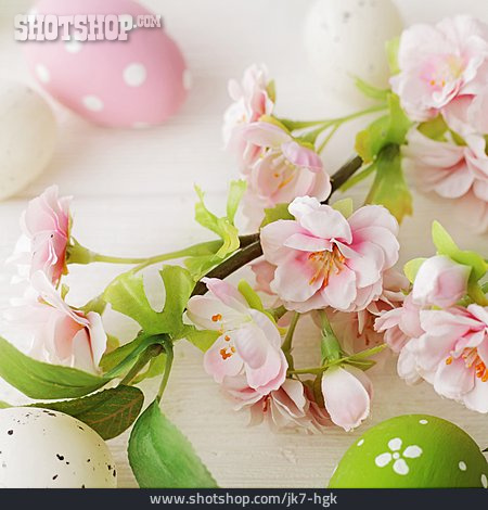 Easter Decoration, Cherry Blossoms