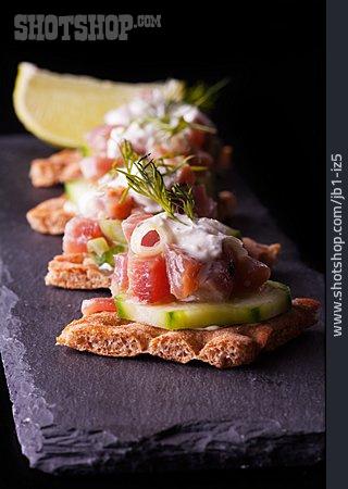 Tuna, Appetizer, Snack