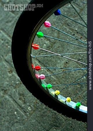 Bicycle, Spoke, Spoke Clicker