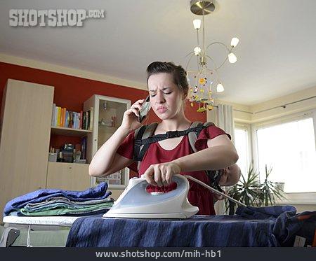 Mother, Household, Multi Tasking