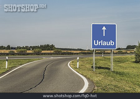 Traffic Sign, Direction, Vacation