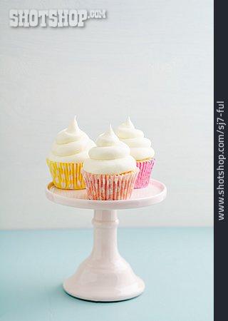 Dessert, Lemon Cream, Cupcakes