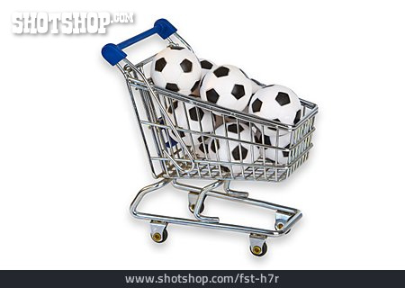 Soccer, Shopping Cart, E Commerce