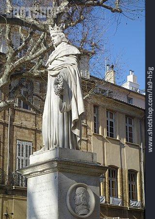 Aix-en-Provence, Cours Mirabeau, Roi Rene Mirabeau