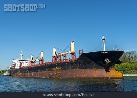 Container Ship, Kiel Canal