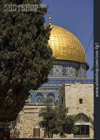 Islam, Mosque, Dome Of The Rock, Jerusalem