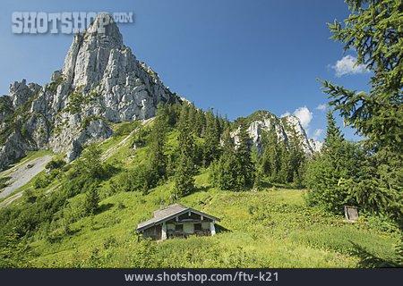 Mountain Lodge, Chiemgau Alps, Hörndlwand
